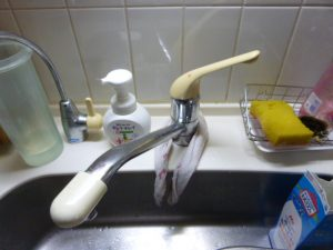 枚方市 キッチン水栓取替工事
