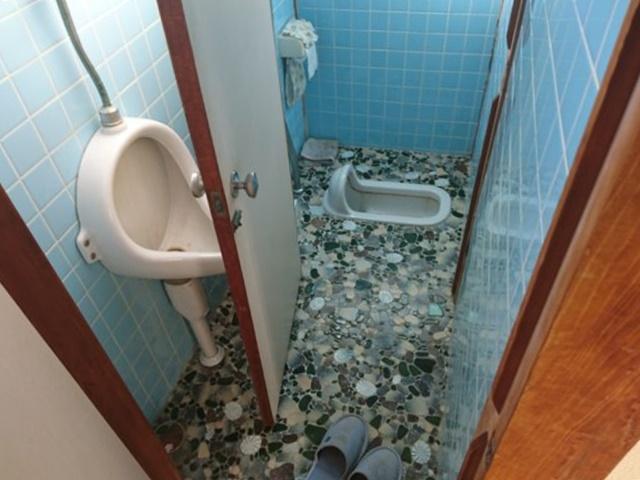 既設和式トイレ