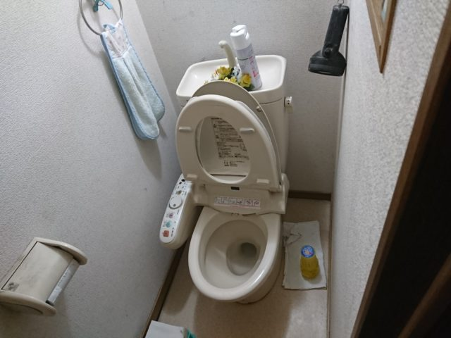 既設トイレ