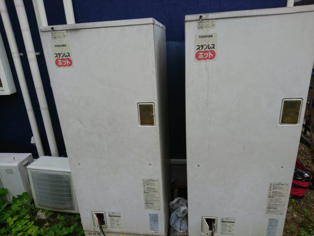 既設電気温水器2台