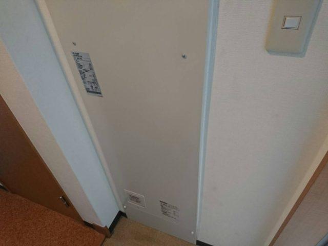 電気温水器本体設置