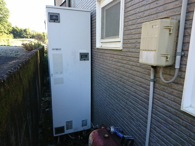 既設電気温水器
