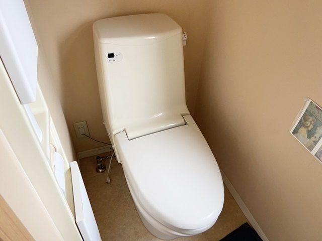 既設のトイレ