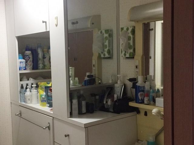既設洗面化粧台