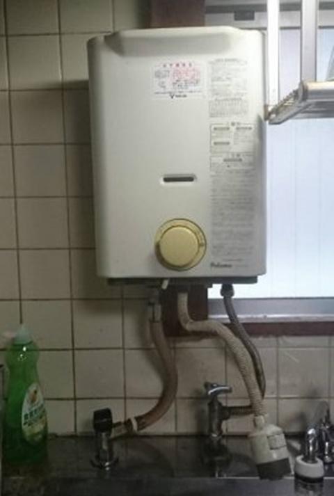 既設ガス瞬間湯沸かし器
