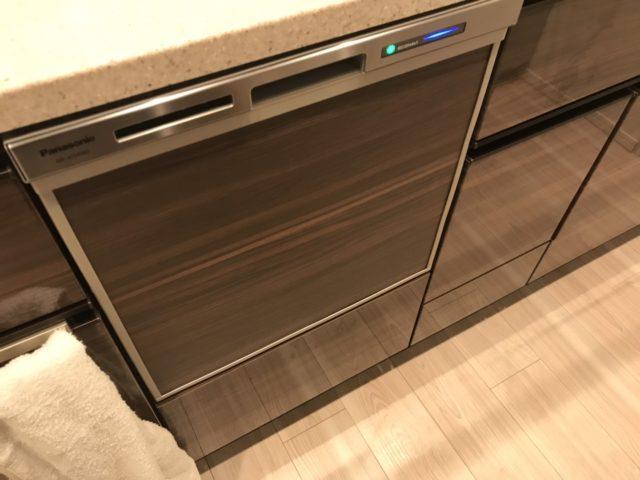 食洗機新設工事完了