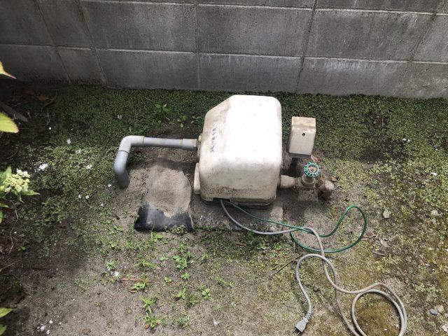 既設浅井戸ポンプ