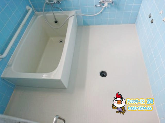 日進市 ユニットバス浴槽取替リフォーム