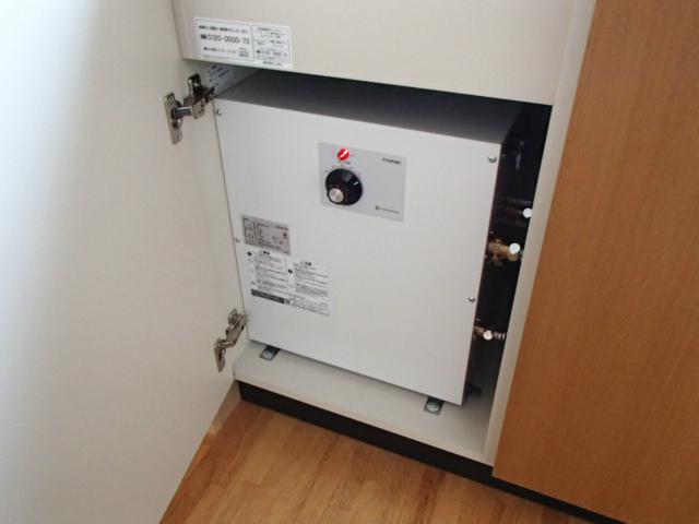 小型電気温水器新設工事(名古屋市中川区)