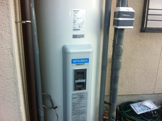 清須市 電気温水器取替工事  三菱電機