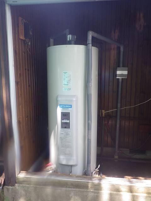 瑞浪市 電気温水器取替工事 三菱 SR-375B