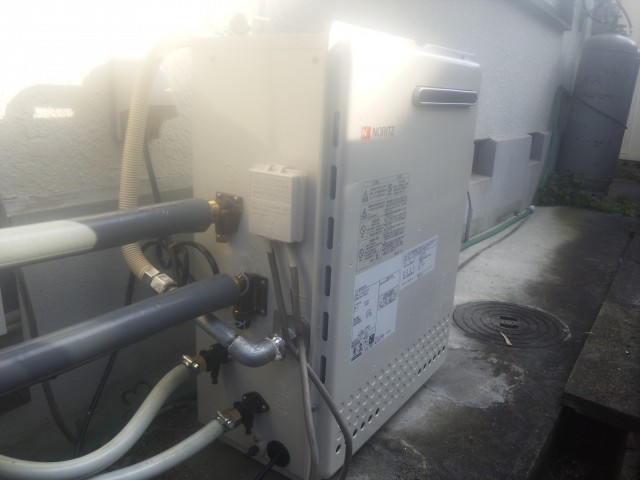 名古屋市守山区ノーリツ給湯器取替工事