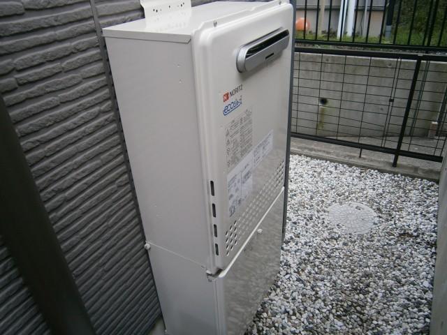 東郷町ノーリツガス給湯器交換工事