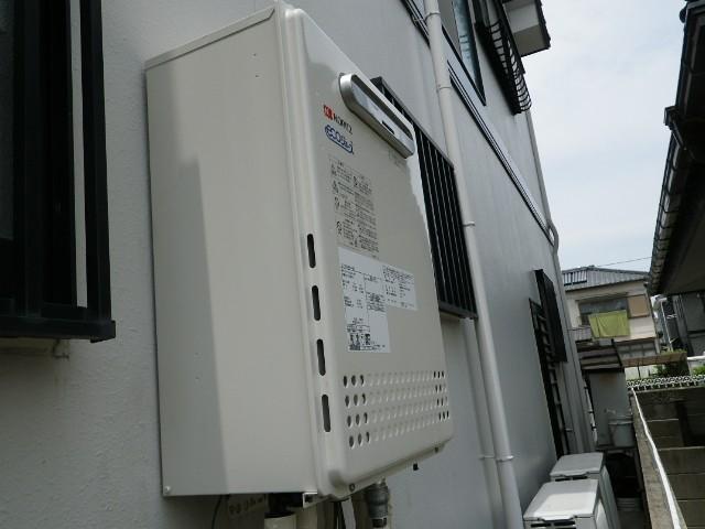 愛知県知多郡ノーリツ給湯器取替工事