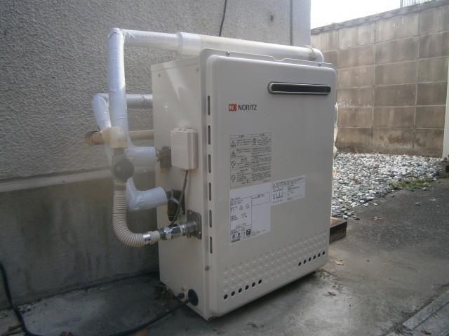 名古屋市守山区 ガス給湯器取替工事