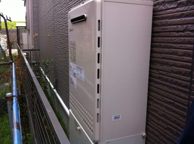 名古屋市西区 ガス給湯器取替工事