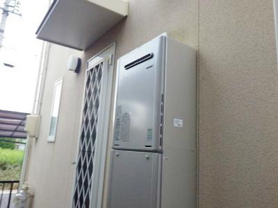 名古屋市緑区 ガスふろ給湯器取り替え工事