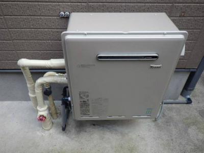 岐阜市 ガスふろ給湯器エコジョーズ取替工事