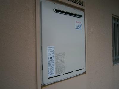 名古屋市港区 ガス給湯器取替工事