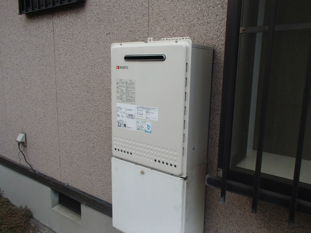 ガス給湯器取替工事(知多市)