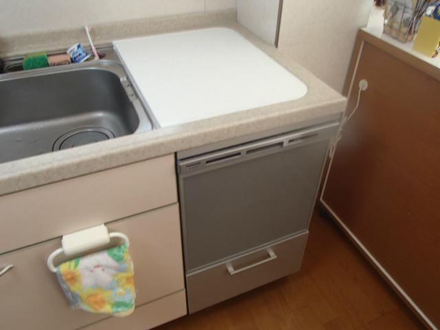 ビルトイン食洗機取替工事(名古屋市西区)