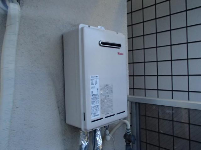 名古屋市昭和区 ガス給湯器即日工事