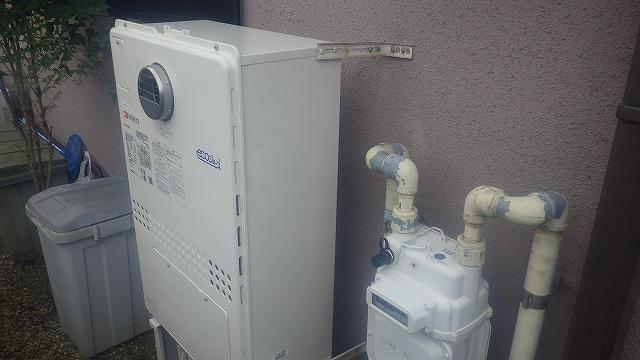 四日市に熱源機の給湯器交換にお伺い致しました!