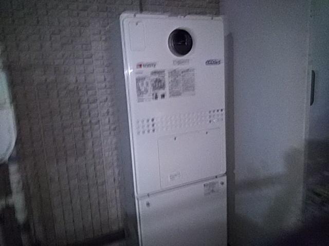 横須賀市ノーリツ(Noritz)熱源給湯器交換工事リモコンが不具合の為