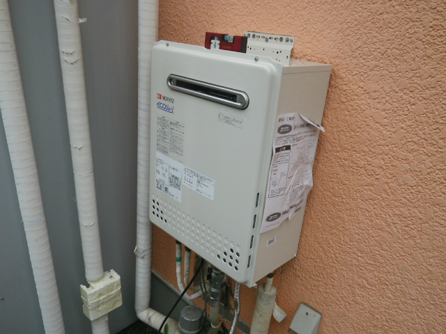 神戸市北区 壁掛ガス給湯器取替工事
