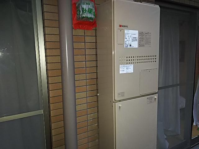 川崎市多摩区で湯はりのできなくなった熱源給湯器をノーリツGTH-2444AWX3H-Hに取替工事