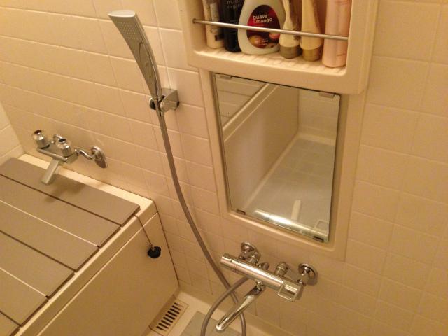 名古屋市昭和区 浴室水栓取替工事