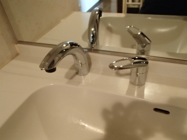 浴室・洗面水栓取替工事(名古屋市昭和区)