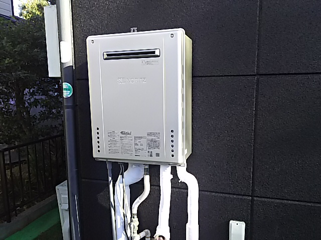 千葉県大網白里市給湯器交換工事(ノーリツGT-C2462SAWX-BL)