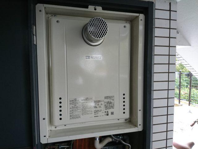 名古屋市瑞穂区給湯器交換工事(ノーリツSRT-2460AWX-T-1BL)