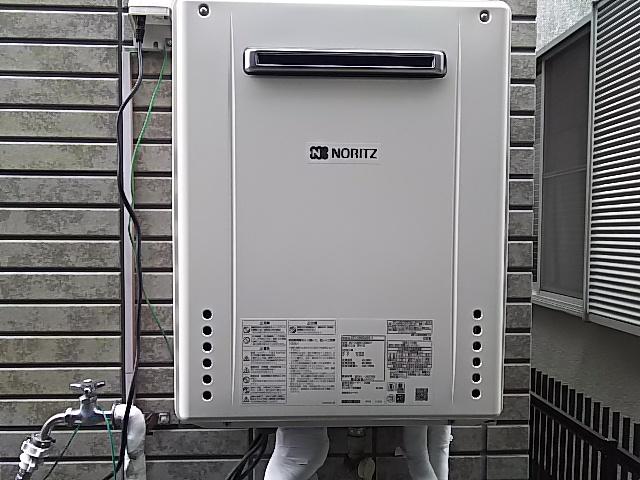 川崎市宮前区給湯器取替工事(ノーリツSRT-2460SAWX-1BL)