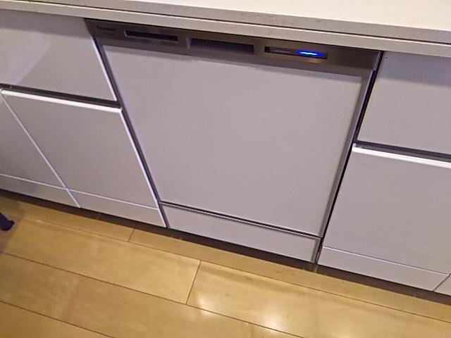 東京都葛飾区食洗機取替工事(パナソニックNP-45MD8S)
