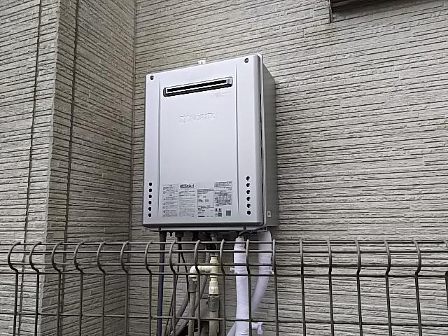 埼玉県入間市給湯器取替工事(ノーリツGT-C2462SAWX BL)