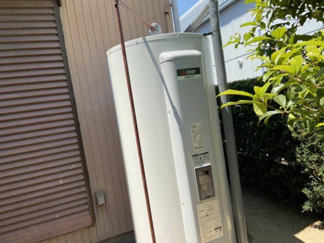 横浜市栄区電気温水器交換工事(三菱SRG-465G)