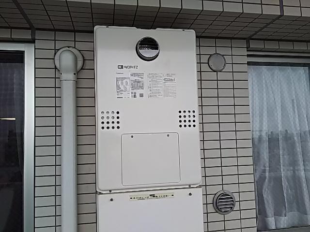 東京都墨田区給湯器交換工事(ノーリツGTH-C2461SAW3HBL)