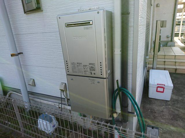 あま市ガス給湯器取替工事(ノーリツGT-C2462SAWX)