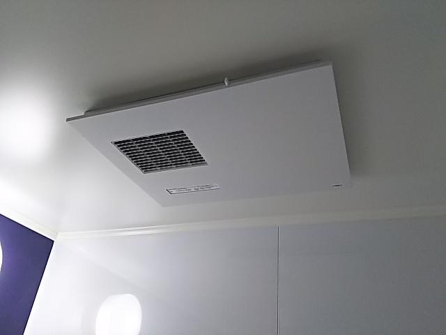 東京都目黒区浴室暖房乾燥機取替工事(TOTO TYB3111GAR)