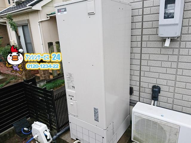 清須市電気温水器交換工事(コロナUWH-46X2A2U-2)